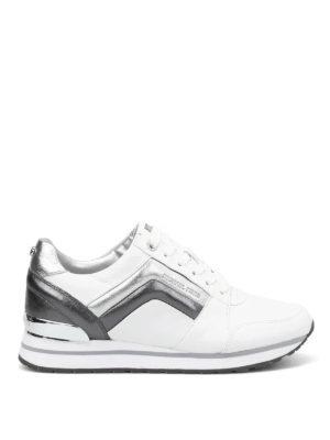 Michael Kors: trainers - Conrad metallic inserts sneakers