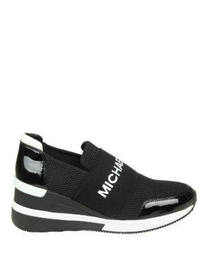 MICHAEL KORS: sneakers - Slip-on Felix in scuba e mesh