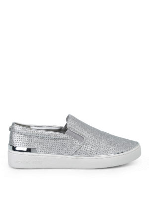 MICHAEL KORS: sneakers - Slip-on Kyle glitterate