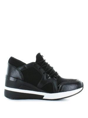 MICHAEL KORS: sneakers - Sneaker alte Liv in pelle e tessuto a rete