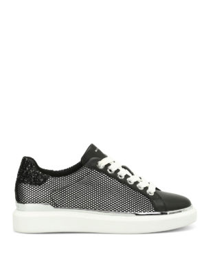 Michael Kors: trainers - Max leather and mesh sneakers