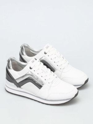 Michael Kors: trainers online - Conrad metallic inserts sneakers