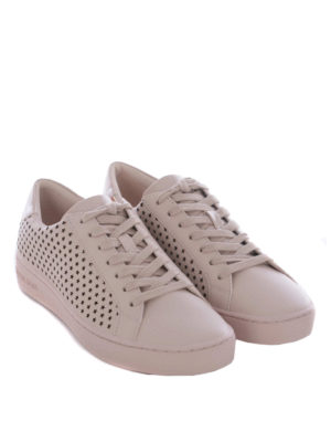 Michael Kors: trainers online - Irving cut-out stars pink sneakers