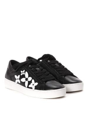 Michael Kors: trainers online - Lola flower appliqué sneakers