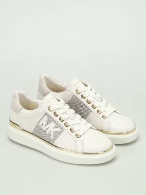 Michael Kors: trainers online - Max leather sneakers