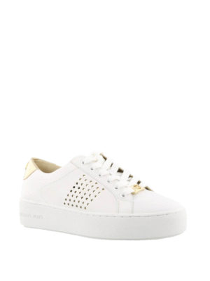Michael Kors: trainers online - Poppy leather sneakers