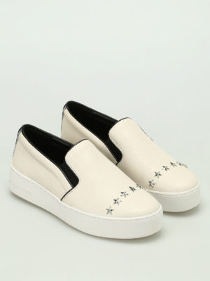 Michael Kors: trainers online - Trent slip on leather sneakers