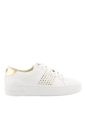 Michael Kors: trainers - Poppy leather sneakers