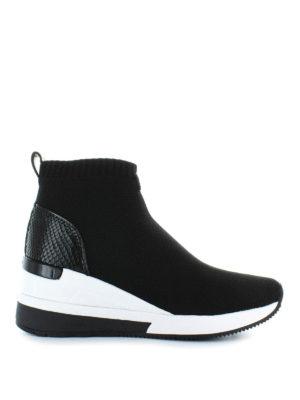 MICHAEL KORS: sneakers - Sneaker alte slip on a calza Skyler