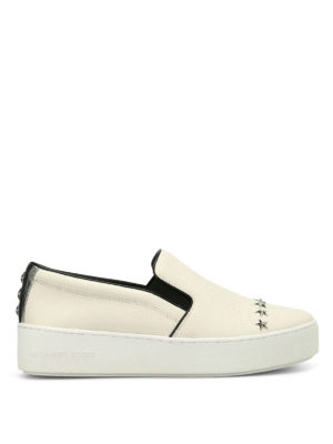Michael Kors: trainers - Trent slip on leather sneakers