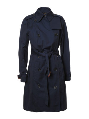 Michael Kors: trench coats - Cotton blend classic trench