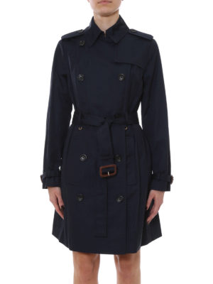 Michael Kors: trench coats online - Cotton blend classic trench
