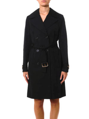 Michael Kors: trench coats online - Cotton trench with belt