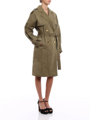 Michael Kors: trench coats online - Wide sleeve classic trench coat