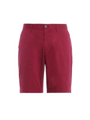 MICHAEL KORS: Trousers Shorts - Raspberry stretch cotton short pants