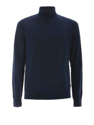 MICHAEL KORS: maglia a collo alto e polo - Dolcevita in lana merino extrafine