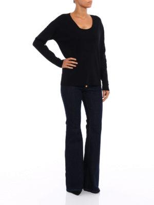 Michael Kors: v necks online - Viscose blend over sweater