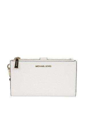 MICHAEL KORS: portafogli - Portafoglio Adele bianco
