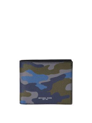 Michael Kors: wallets & purses - Camouflage bi-fold wallet