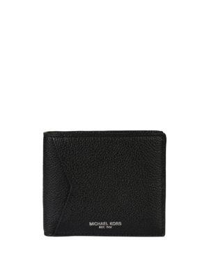 Michael Kors: wallets & purses - Hammered leather bi-fold wallet