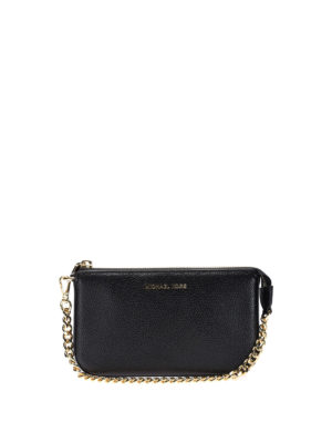 Michael Kors: wallets & purses - Jet Set black wristlet purse