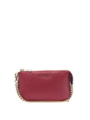 Michael Kors: wallets & purses - Jet Set mulberry wristlet purse