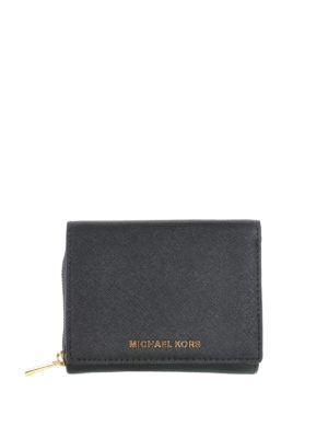 Michael Kors: wallets & purses - JET SET TRAVEL SAFFIANO WALLET