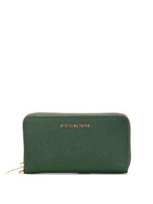 Michael Kors: wallets & purses - Jet Set Travel smartphone wallet
