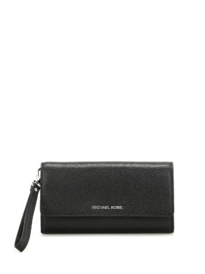 Michael Kors: wallets & purses - Mercer L hammered leather wallet