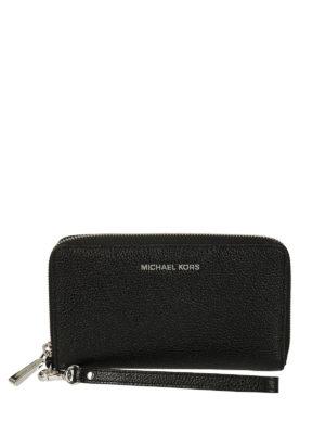 MICHAEL KORS: portafogli - Portafoglio Mercer L per smartphone