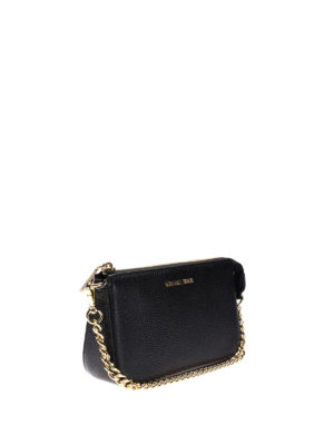 Michael Kors: wallets & purses online - Jet Set black wristlet purse