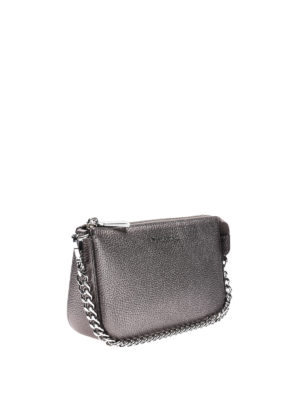 Michael Kors: wallets & purses online - Jet Set gunmetal wristlet purse