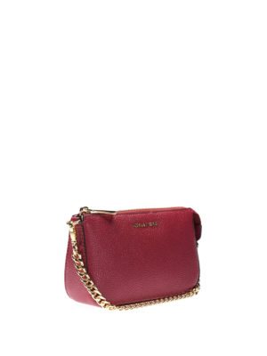 Michael Kors: wallets & purses online - Jet Set mulberry wristlet purse