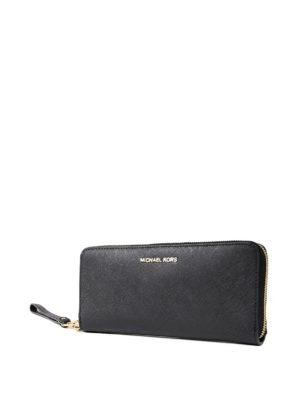 Michael Kors: wallets & purses online - Jet Set Travel black wallet