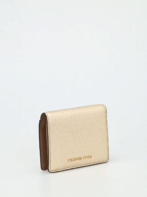 Michael Kors: wallets & purses online - Mercer hammered leather wallet