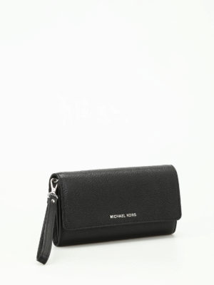Michael Kors: wallets & purses online - Mercer L hammered leather wallet
