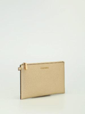 Michael Kors: wallets & purses online - Wristlet gold flat purse