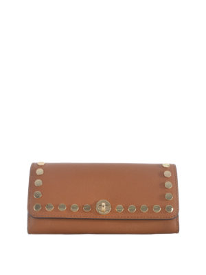Michael Kors: wallets & purses - Rivington Stud leather flap wallet