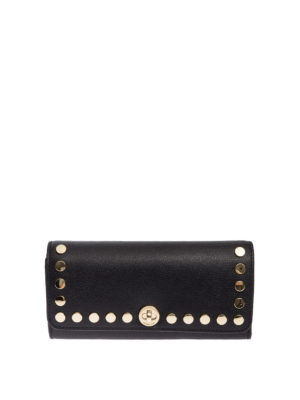 Michael Kors: wallets & purses - Studded leather flap wallet