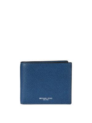 Michael Kors: wallets & purses - Two-tone leather bi-fold wallet