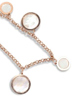 Michelangelo: Bracelets & Bangles online - Bracelet with mother-of-pearl hoops