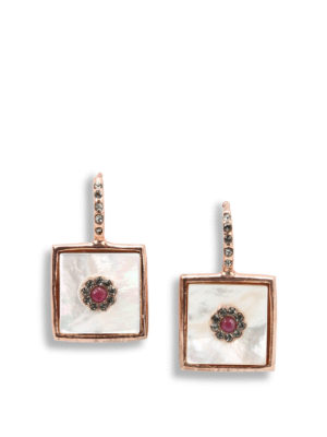 Michelangelo: Earrings - Bourbonic earrings