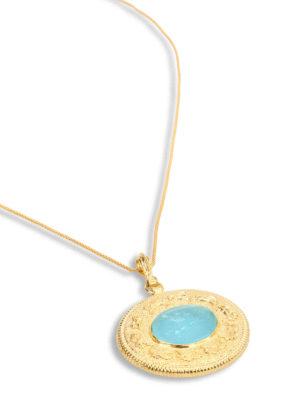 Michelangelo: Necklaces & Chokers online - Glass paste intaglio necklace