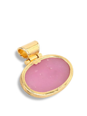Michelangelo: Pendants online - Glass paste intaglio pendant