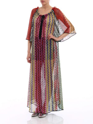 Missoni: cover-ups online - Multicolour Chevron cover-up
