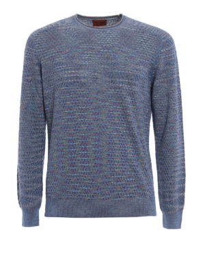Missoni: crew necks - Multicolour wave patterned sweater