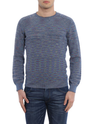 Missoni: crew necks online - Multicolour wave patterned sweater