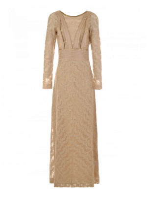 Missoni: evening dresses - Lamé jersey long dress