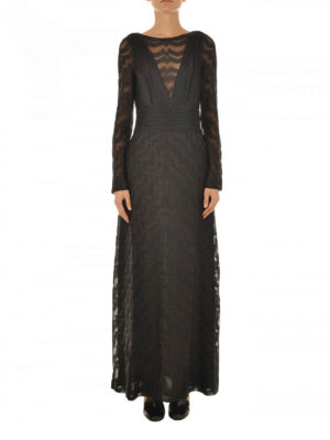 Missoni: evening dresses online - Lamé jersey long dress