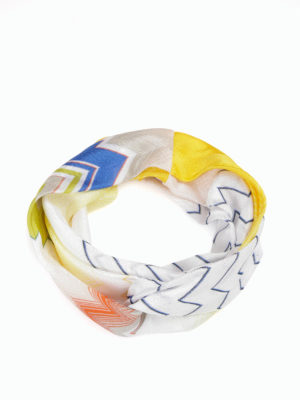 Missoni: hair accessories online - Stretch knitted snood
